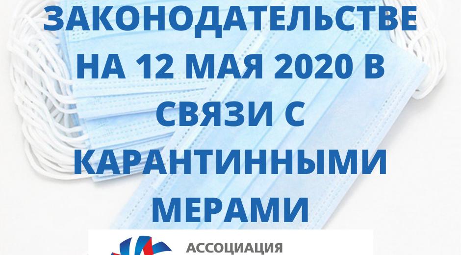 Коротко об изменениях в законодательстве на 12.05.2020